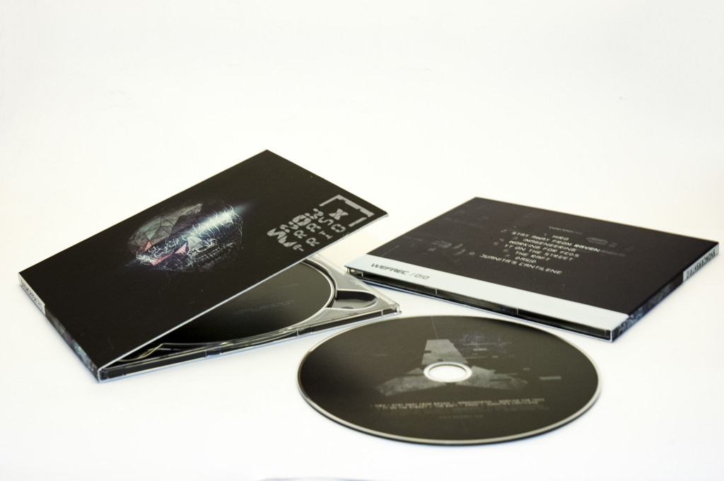 CD premiere album: snow crash trio by WEFREC.COM