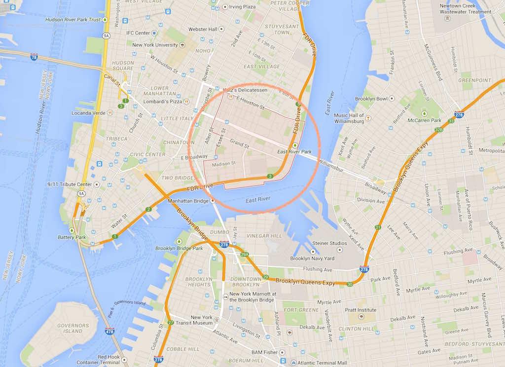 LES - NY - Kondo MAP
